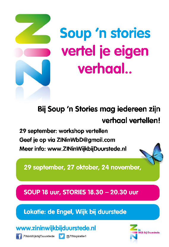 flyer soup 'n stories