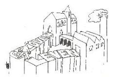 cartoon Arend van Dam